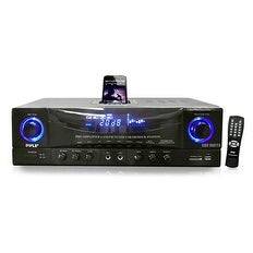 """Pyle Audio PYLPT4601AIUB Pyle Home PT4601AIU 500 Watts Stereo Receiver AM-FM Tuner/USB/SD/iPod Docking Station and Subwoofer"