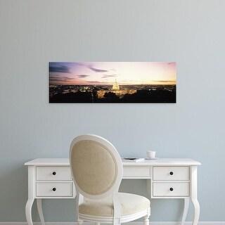 Easy Art Prints Panoramic Images's 'US Capitol Washington DC USA' Premium Canvas Art