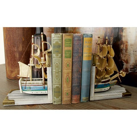 The Curated Nomad Biltmore Nautical Trade Ship Book Ends