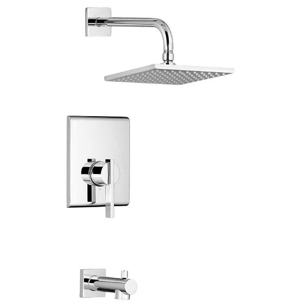 American Standard TU184.502 Times Square Tub and Shower Trim Package with 2.5 GPM Single Function Shower Head