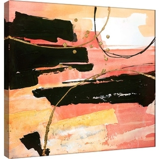 """PTM Images 9-100949  PTM Canvas Collection 12"""" x 12"""" - """"Desert Sunset 1"""" Giclee Abstract Art Print on Canvas"""