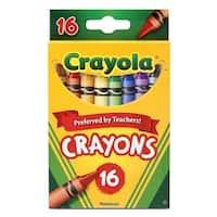 Crayola  Crayola Crayons Peggable, 16 Count Per Box - Box of 8
