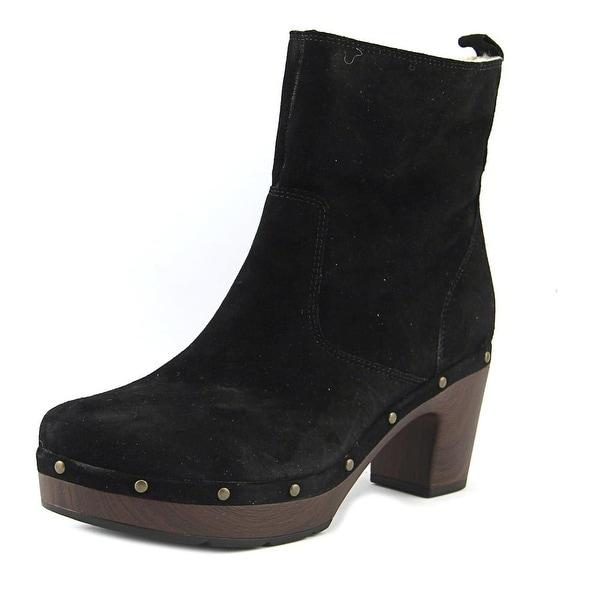 Clarks Ledella Abby Black Boots