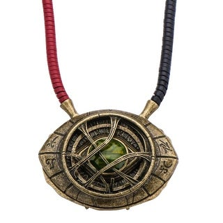 Marvel Doctor Strange Eye of Agamotto 1:1 Scale Licensed Prop Replica Necklace - GOLD