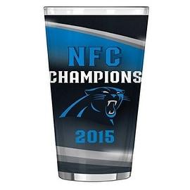 Carolina Panthers NFC Champion Pint Glass