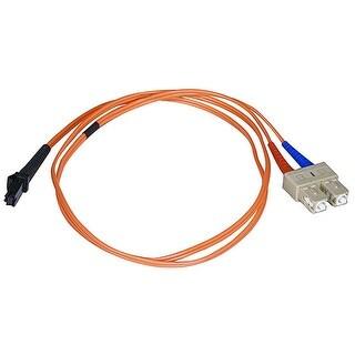 Monoprice Fiber Optic Cable, MTRJ (Female)/SC, OM1, Multi Mode, Duplex - 3 meter (62.5/125 Type) - Orange