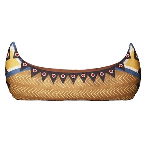 "Donna Sharp Sunset Cottage ""Canoe"" Decorative Pillow"