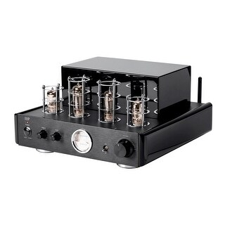 Monoprice 50 Watt Stereo Hybrid Tube Amplifier with Bluetooth & Line Output