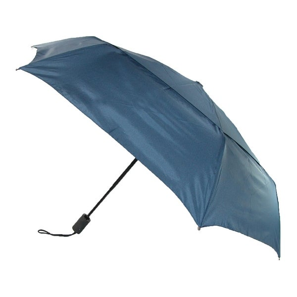 ShedRain Men's Auto Open & Close Vented Compact Umbrella