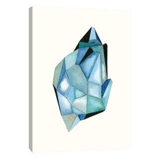 """PTM Images 9-105688  PTM Canvas Collection 10"""" x 8"""" - """"Faceted Gem C"""" Giclee Abstract Art Print on Canvas"""