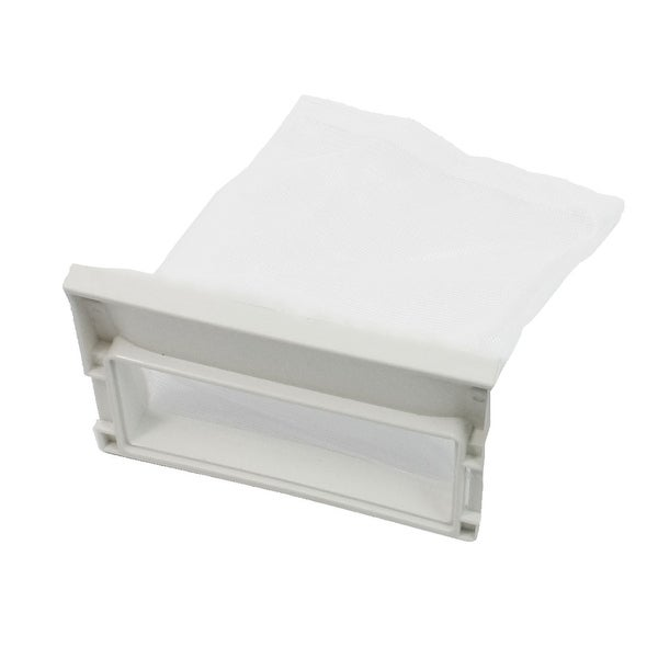Unique Bargains Washer Part Nylon Waste Holder Mesh Filter Bag For  Panasonic Washing Machine
