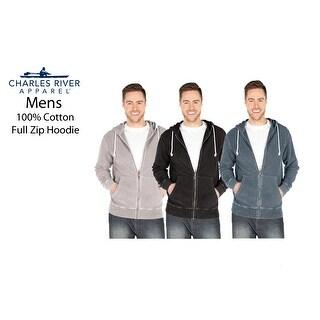 Link to Men's Full Zip 100% Cotton Hoodie Similar Items in Loungewear