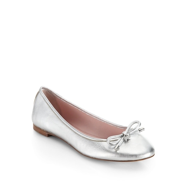 Kate Spade New York Womens Willa Too Calf Hair Pointed Toe Loafers