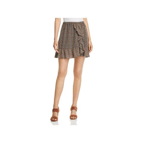 MICHAEL Michael Kors Womens Pop Deco Tulip Skirt Floral Print Mini