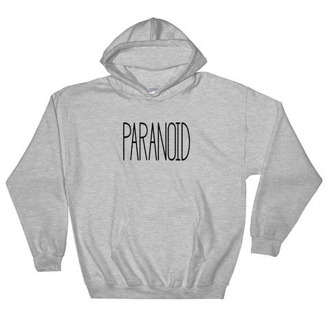 Paranoid Pullover Pocket Hoodie