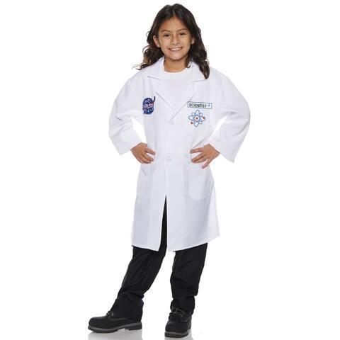 Underwraps Rocket Scientist Lab Coat Child Costume