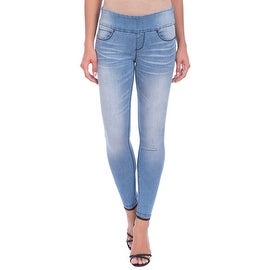 Lola Jeans Julia-SSB, Mid Rise Pull On Ankle With 4-Way Stretch
