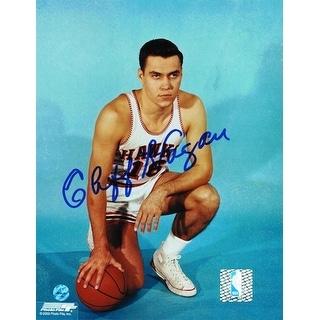 Autographed Cliff Hagan St. Louis Hawks 8x10 Photo