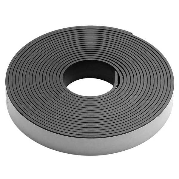 Craft And Hobby Peel And Stick Rubber Magnetic Tape 1/2 Inch Wide (10 Foot Roll)
