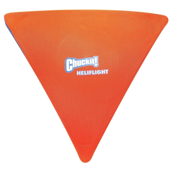 Chuckit 222301 Heliflight Dog Toy, Large, Assorted Colored, Canvas