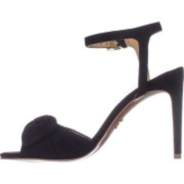 MICHAEL Michael Kors Womens willa Leather Open Toe Formal Ankle Strap Sandals