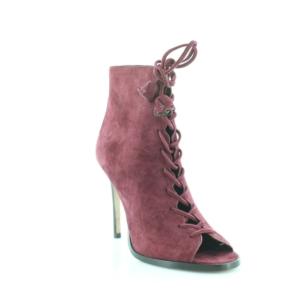 Coach Lena Women's Heels Burgundy - 7