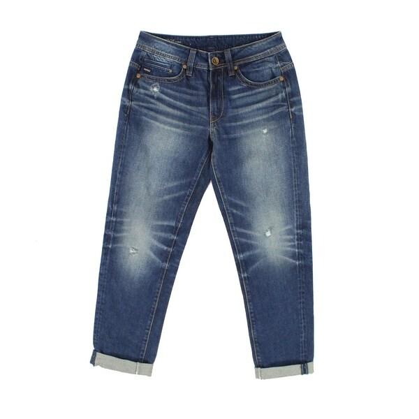 c128b587eb Shop G Star Raw Blue Womens Size 26x32 Midge Saddle Boyfriend Jeans ...
