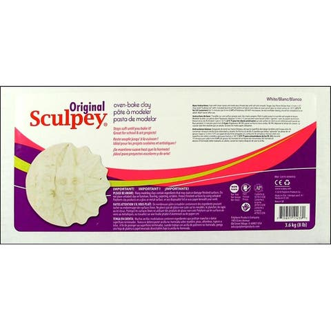 Polyform Sculpey Original Clay 8lb White