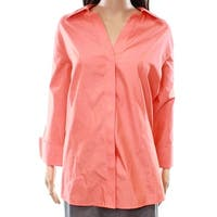 Foxcroft Womens Plus Fitted Button Down Shirt