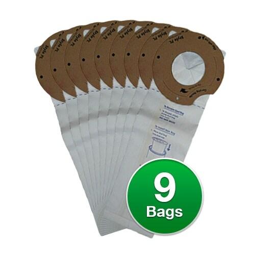 Replacement Vacuum Bag for Eureka Style PL Vacuum Bag (3-Pack)