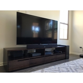 burke 4 drawer entertainment center free shipping today 80005232. Black Bedroom Furniture Sets. Home Design Ideas