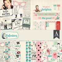 """Authentique Collection Kit 12""""X12""""-Fabulous"""