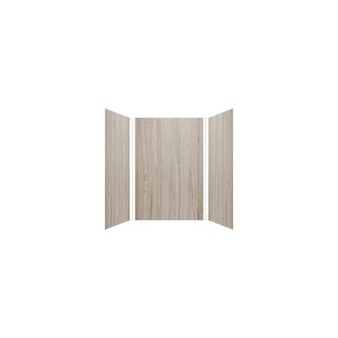 """Transolid Expressions 48-in X 48-in X 72-in Glue to Wall Shower Walls - 48"""" x 48"""" x 72"""""""
