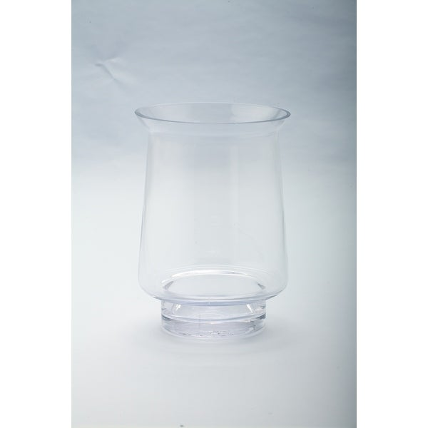 "8"" Hurricane Handblown Glass Votive Candle Holder - N/A"