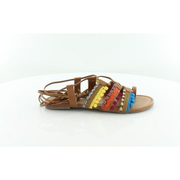 INC International Concepts Mariani Women's Sandals & Flip Flops Golden Cognac