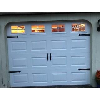 Shop Hinge It Magnetic Black Decorative Garage Door
