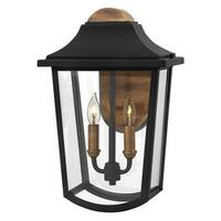 Hinkley Lighting 1974 2 Light Outdoor Lantern Wall Sconce from the Burton Collection