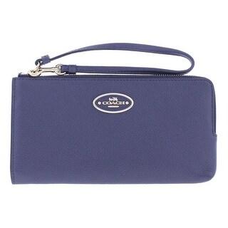 Coach Womens Wristlet Wallet Leather Clutch - o/s