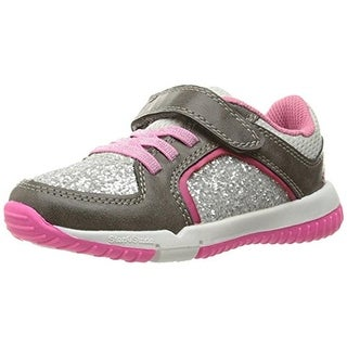 Step and Stride Girls Cavan Toddler Glitter Fashion Sneakers - 6.5 medium (b,m)