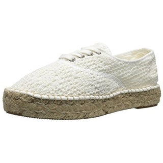 Natural World Womens Ingles Yute Crochet Espadrille Casual Shoes