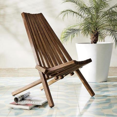 DREAMPATIO AMAYA Folding Wooden Outdoor Chair