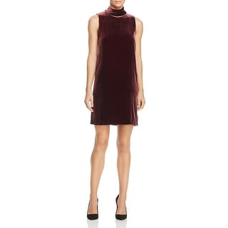 Theory Womens Party Dress Velvet Sleeveless