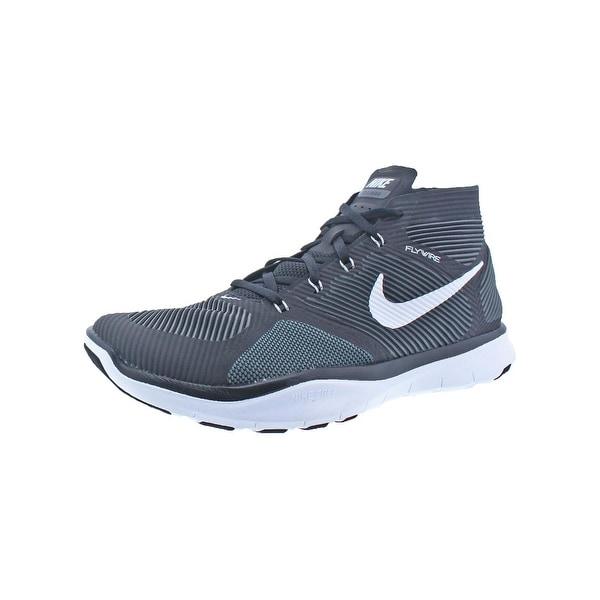 promo code b17a8 c45c8 Nike Mens Free Train Instinct Running, Cross Training Shoes Flywire Mid-Top  - 11
