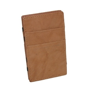 Bacci Men's Leather Small Mystery Wallet - One Size