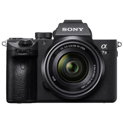 Sony Alpha 7 III Full Frame Mirrorless Camera with 28-70mm Lens