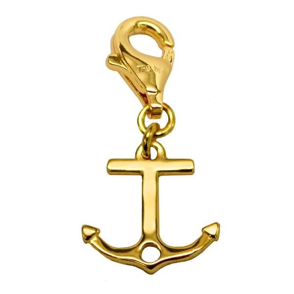Julieta Jewelry Anchor Clip-On Charm