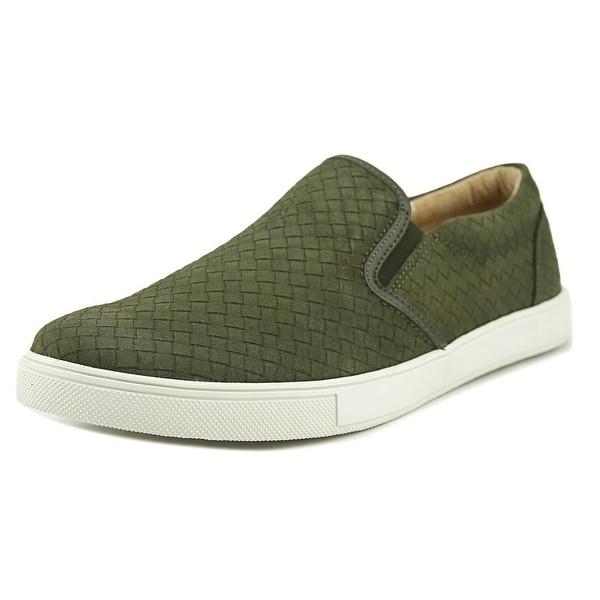 Sam Edelman Eric Men Suede Green Fashion Sneakers