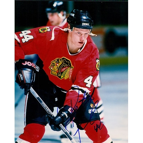 1f1f3b9aa Shop Signed Poulin Patrick Chicago Blackhawks 8x10 Photo autographed ...
