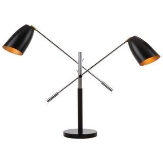 "Link to Safavieh Lighting 32-inch Mavis Adjustable Task Table Lamp - 23-36""x8.75""x27-32"" Similar Items in Desk Lamps"