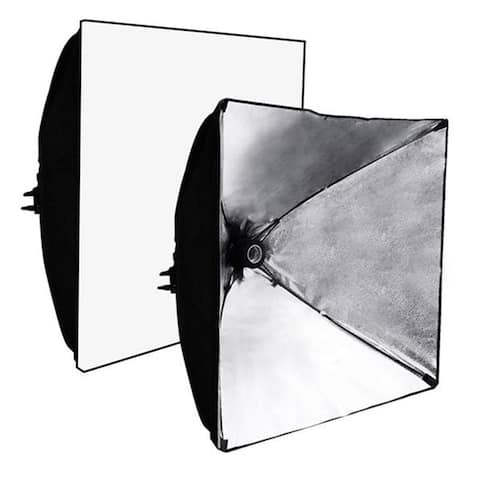 Kshioe 5070 Studio Light Softbox Black & Silver US Plug